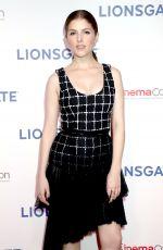 ANNA KENDRICK at Lionsgate Presentation at Cinemacon in Las Vegas 04/26/2018