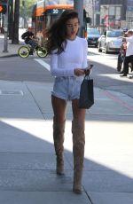 ANNA LITVA Shopping at Barneys New York in Beverly Hills 04/24/2018
