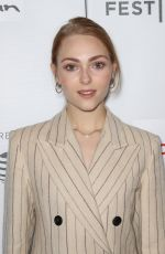 ANNASOPHIA ROBB at Bethany Hamilton Unstoppable Premiere at Tribeca Film Festival in New York 04/20/2018