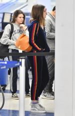 ANNE HATHAWAY at Los Angeles International Airport 04/24/2018
