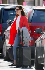 ANNE HATHAWAY Out and About in New York 04/22/2018