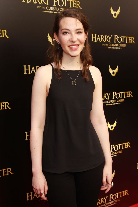 ANNES ELWY at Harry Potter and the Cursed Child Broadway Opening in New York 04/22/2018