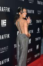 ANNIE ILONZEH at Traffik Premiere in Los Angeles 04/19/2018