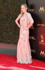 ANNIKA NOELLE at Daytime Creative Arts Emmy Awards in Los Angeles 04/27/2018