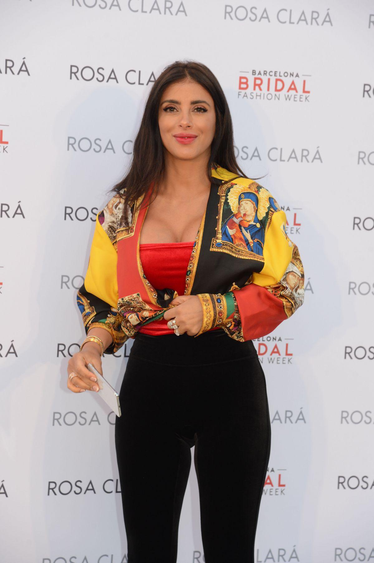 ANTONELLA ROCCUZZO and DANIELLA SEMAAN at Rosa Clara ...