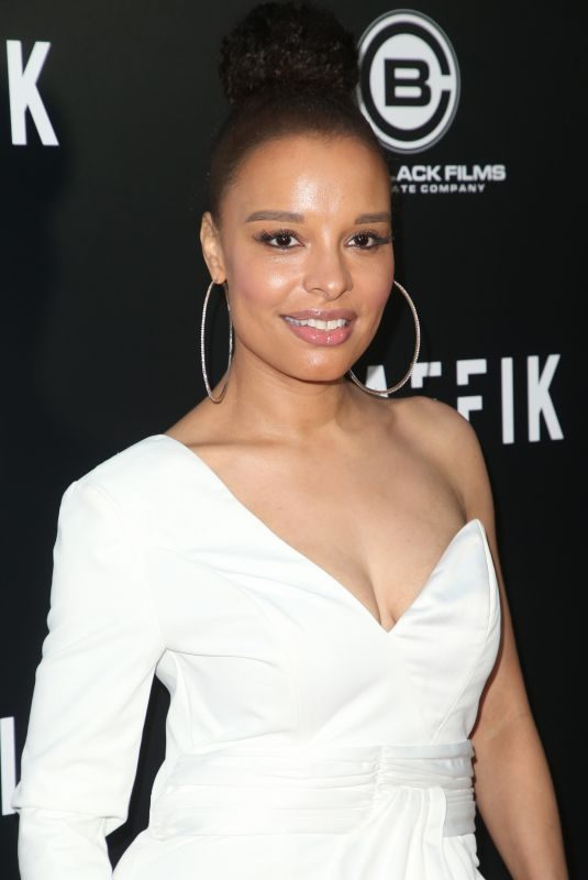ANTONIQUE SMITH at Traffik Premiere in Los Angeles 04/19/2018