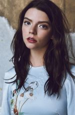 ANYA TAYLOR-JOY for Rollacoaster Magazine, Spring/Summer 2018 Issue