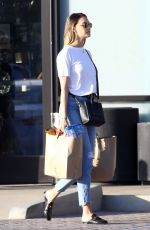 APRIL LOVE GEARY in Jeans Out Shopping in Malibu 04/18/2018