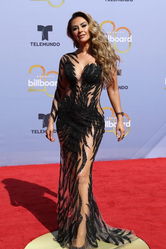 ARACELY ARAMBULA at Billboard Latin Music Awards in Las Vegas 04/26/2018