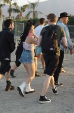 ARIEL WINTER and Levi Meadenat Coachella Valley Music and Arts Festival in Palm Springs 04/14/2018