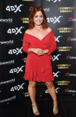 ARIELLE FREE at Cineworld Leicester Square Relaunch Party in London 04/19/2018