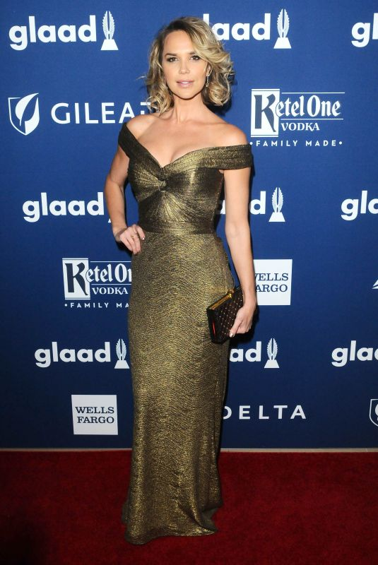 ARIELLE KEBBEL at Glaad Media Awards 2018 in Beverly Hills 04/18/2018