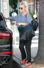 ASHLEE SIMPSON Out Shopping in Los Angeles 04/08/2018