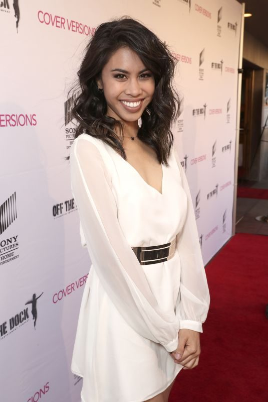 ASHLEY ARGOTA at Cover Versions Premiere in Los Angeles 04/09/2018