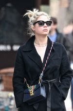 ASHLEY BENSON Out and About in New York 04/12/2018