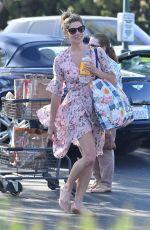 ASHLEY GREENE Shopping at Bristol Farms in Los Angeles 04/16/2018