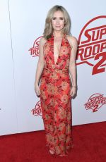 ASHLEY JONES at Super Troopers 2 Premiere in Hollywood 04/11/2018