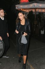 ASHLEY MADEKWE Leaves Chateau Marmont in Los Angeles 04/20/2018