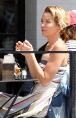 ASHLEY SCOTT Out for Lunch in Los Angeles 04/06/2018