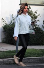 ASHLEY TISDALE Out and About in Los Angeles 04/05/2018
