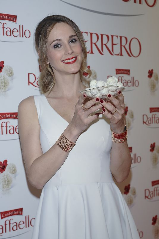 ASTRID KLISANS at Rafaello by Ferrero Photocall in Madrid 04/25/2018