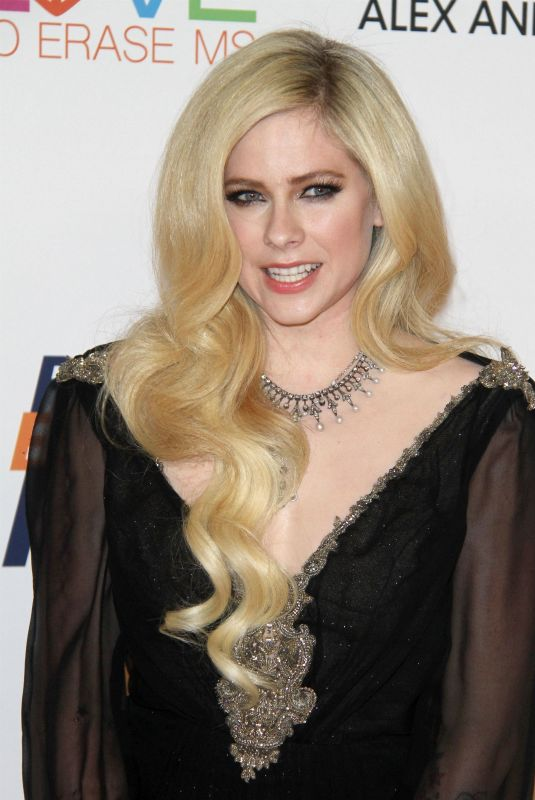 AVRIL LAVIGNE at Race to Erase MS Gala 2018 in Los Angeles 04/20/2018