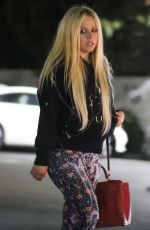 AVRIL LAVIGNE Out Shopping in Los Angeles 04/18/2018