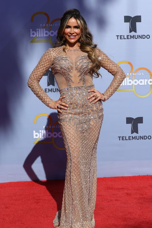 AYLIN MUJICA at Billboard Latin Music Awards in Las Vegas 04/26/2018