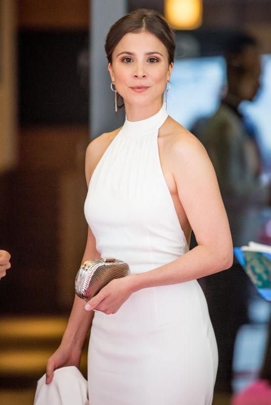 AYLIN TEZEL Leaves Her Hotel in Berlin 04/28/2018