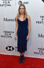 BEA SANTOS at Stockholm Premiere at Tribeca Film Festival in New York 04/19/2018