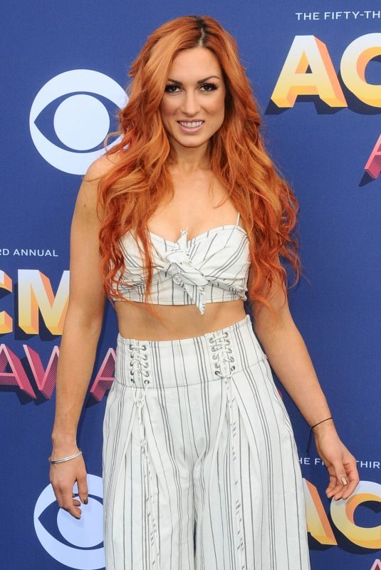 BECKY LYNCH at 2018 ACM Awards in Las Vegas 04/15/2018