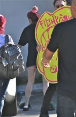 BELLA and DANI THORNE and Mod Sun Promotes Filthy Fangs Record Label in West Hollywood 04/26/2018