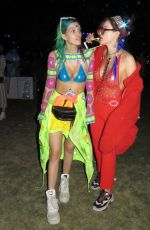 BELLA and DANI THORNE at 2018 Coachella Valley Music and Arts Festival 04/15/2018