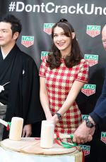 BELLA HADID at TAG Heuer Ginza Boutique Opening in Tokyo 04/09/2018