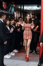 BELLA HADID Leaves TAG Heuer Ginza Boutique Opening Ceremony in Tokyo 04/09/2018