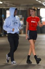 BELLA HADID Out and About in Los Angeles 04/19/2018