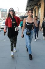 BELLA HADID Out in New York 04/22/2018