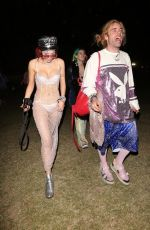 BELLA THORNE and Mod Sun at 2018 Coachella Valley Music and Arts Festival 04/16/2018