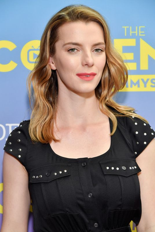 BETTY GILPIN at Glow Presentation and Green Room in Los Angeles 04/15/2018