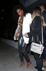BEYONCE and KELLY ROWLAND at Dundas Traveling Flagship Cocktail Party in Los Angeles 04/24/2018