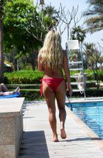 BIANCA GASCOIGNE in Bikini at a Pool in Dubai 04/14/2018