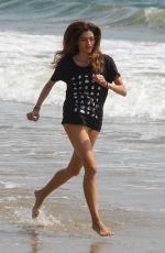 BLANCA BLANCO at a Beach in Malibu 04/11/2018