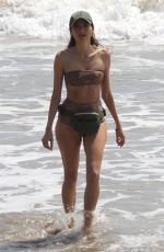 BLANCA BLANCO in Bikini at a Beach in Malibu 04/12/2018