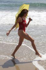 BLANCA BLANCO in Swimsuit on the Beach in Malibu 04/10/2018