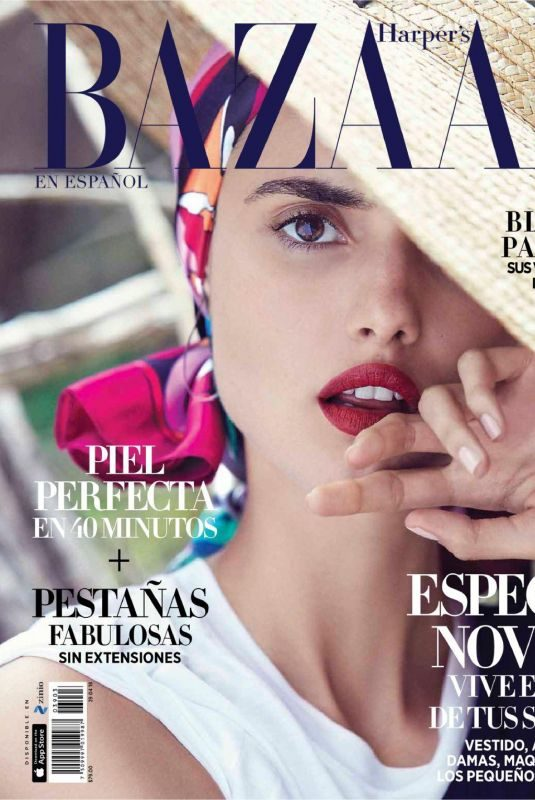 BLANCA PADILLA in Harper's Bazaar Magazine, Spain April 2018