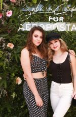 BREC BASSINGER at Sabrina Carpenter for Aeropostale Event in Los Angeles 04/08/2018