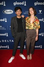 BRIGETTE LUNDY-PAINE at Glaad Media Awards Rising Stars Luncheon in Beverly Hills 04/11/2018