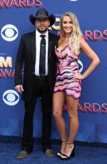 BRITTANY KERR at 2018 ACM Awards in Las Vegas 04/15/2018