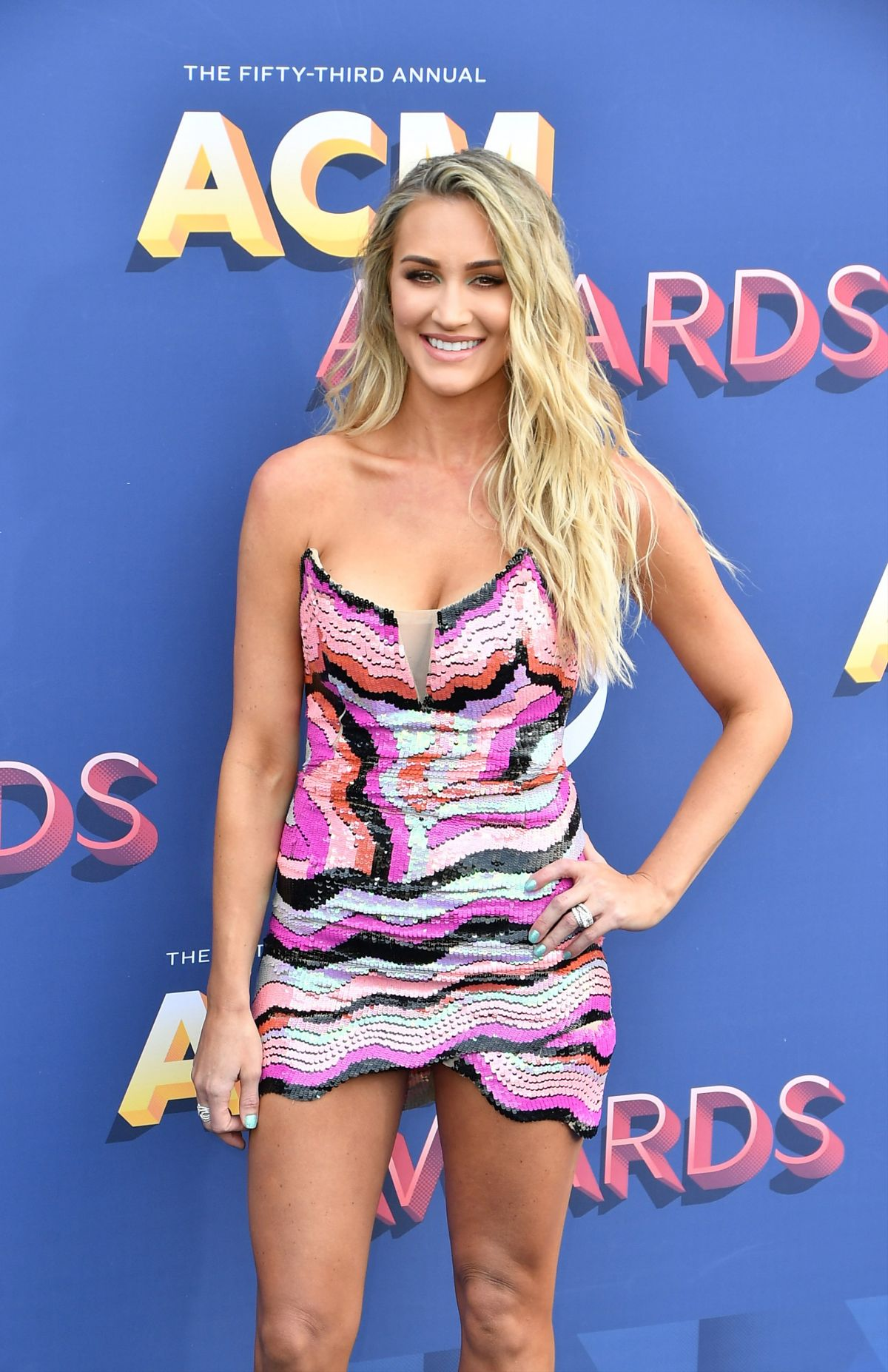 BRITTANY KERR at 2018 ACM Awards in Las Vegas 04/15/2018 ... Brittany Kerr