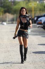 BROOKE BURKE at Coachella Valley Music and Arts Festival in Palm Springs 04/14/2018